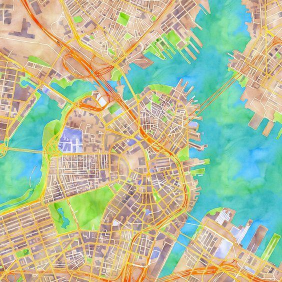 Stamen Watercolor Maps