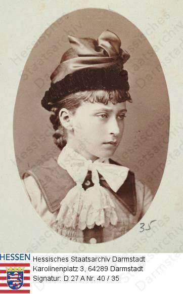Princess Elizabeth of Hesse and by Rhine ~ Grand Duchess Elizabeth Feodorovna
