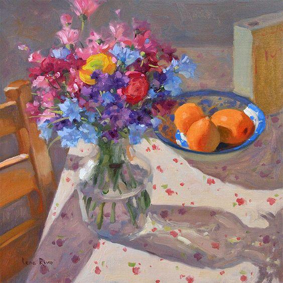 Summer Morning | Lena Rivo | Contemporary Impressionist Painter: