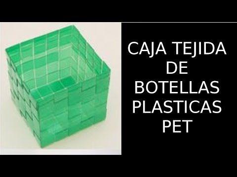 Reciclaje de botellas pl sticas pet manualidades caja - Botellas de plastico manualidades ...