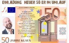 50 Geburtstag Einladung Vorlage Kostenlos Geburtstag Einladung