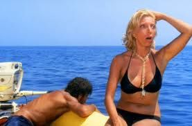"""A perplexing scene of Lina Wertmuller's """"Swept Away"""", a must-see movie with an incredible denouement..."""