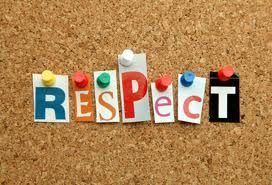 Teaching our kids respect!!!!  I couldn't agree more!  So sad that so many kids are so rude and disrespectful :(