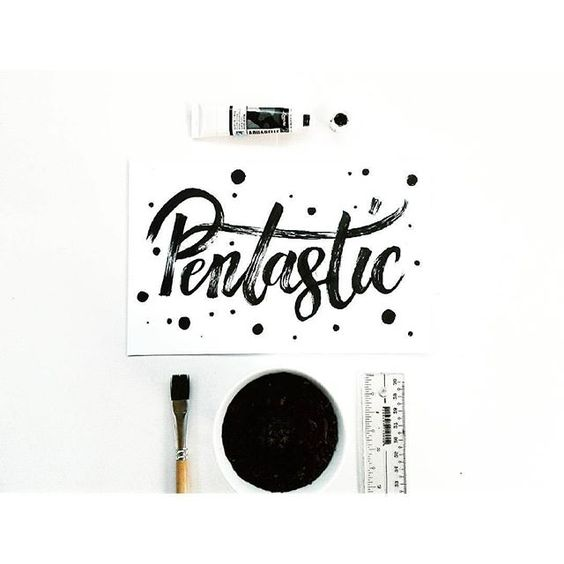 Pentastic by @typo.holic - Daily typography & lettering design love ❤️ - typostrate - typostrate.com