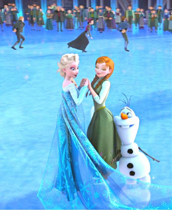 Frozen - Does anyone ever give Olaf a hug? I know Anna hugs the inanimate snowman, that they built together when Elsa and Anna were children. But the Olaf that is alive... I can't think of one time when anyone gives him a warm hug. Look at him in this picture. He wants a hug so desperately. This makes me so sad!