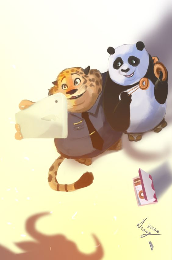 Kung Fu panda×Zootopia