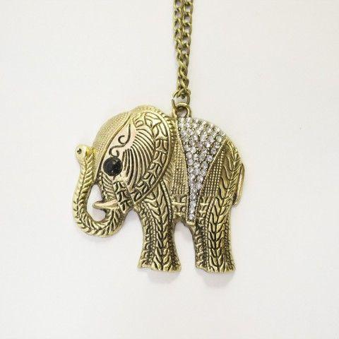 Pendentif elephant