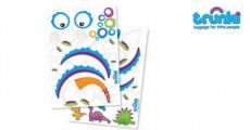 10% off Trunkisaurus Dine Stickers in Blue now £1.70