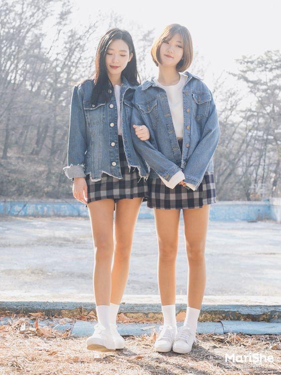 Official Korean Fashion : Korean Twin Look Fashion: