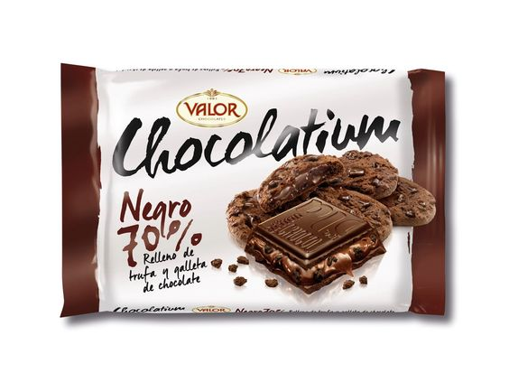 Chocolates Valor – Chocolatium Negro