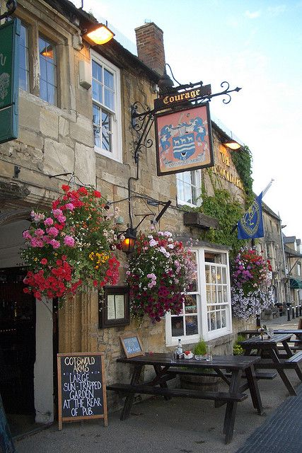 The Cotswolds Arms, Burford; The Cotswolds, England