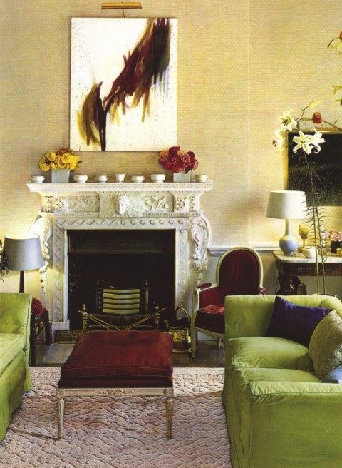 Colors Burgundy And Moss Green Living Room Ideas