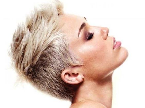 Miley cyrus haircut 2013 front and back galleryhip com the hippest