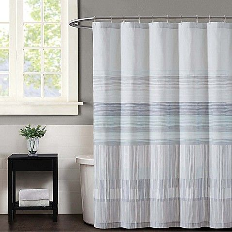 Complete Your Bathroom Space With The Vince Camuto Kasu Striped