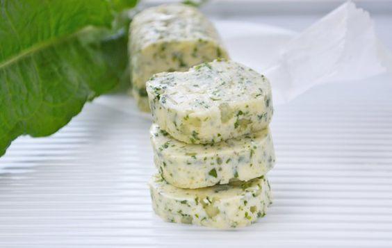 Sauerampfer-Butter