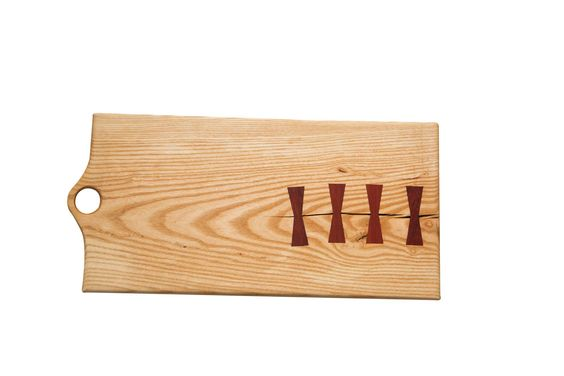 Made in USA Hickory Cutting Board