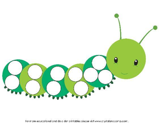 preschool do a dot printables: bigs