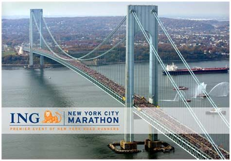 Run NYC Marathon:  I have a couple of marathons under my belt, but am desperate to keep going...NYC would be amazing!!!