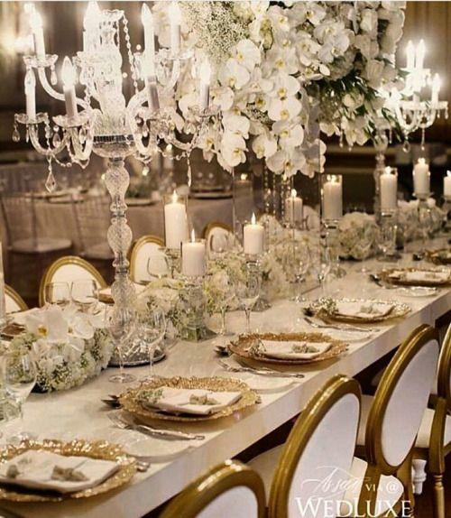 Inspiração luxuosa hein noivinhas!!  #blogdecasamento... #wedding #weddings