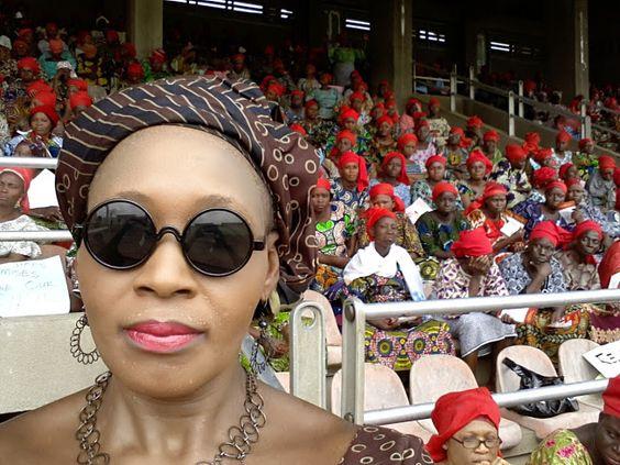 PHOTO: The #OyoState Prayer meeting May 7th 2014 at Lekan Salami stadium #Ibadan