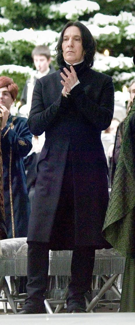 Severus at the Yule Ball