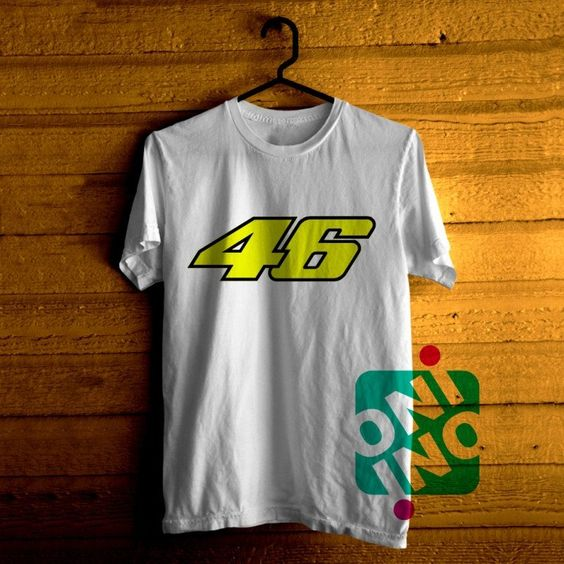 Low price only $16.00 ,Valentino Rossi 46 Tshirt For Men / Women Shirt Color Tees