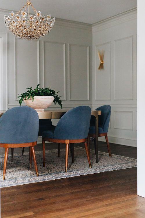 Fair Oaks Jean Stoffer Design In 2020 Dining Room Paneling Mid Century Dining Room Dining Room Remodel