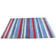Blue Striped #Rug. Will add style to a baby's/kids room .£59