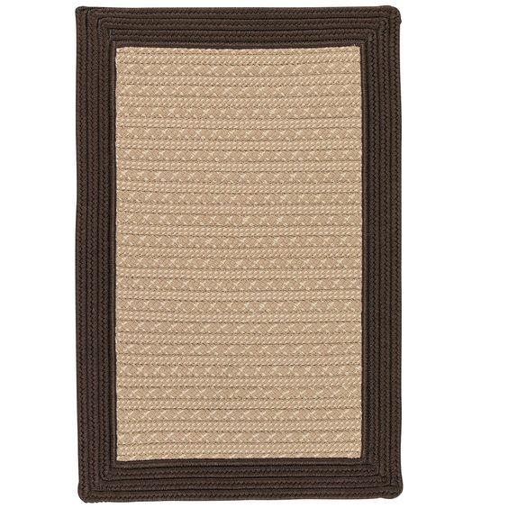 Dartmouth Hand-Woven Brown Indoor/Outdoor Area Rug