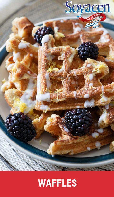 Receta de Waffles vegetarianos / Vegan waffles recipe