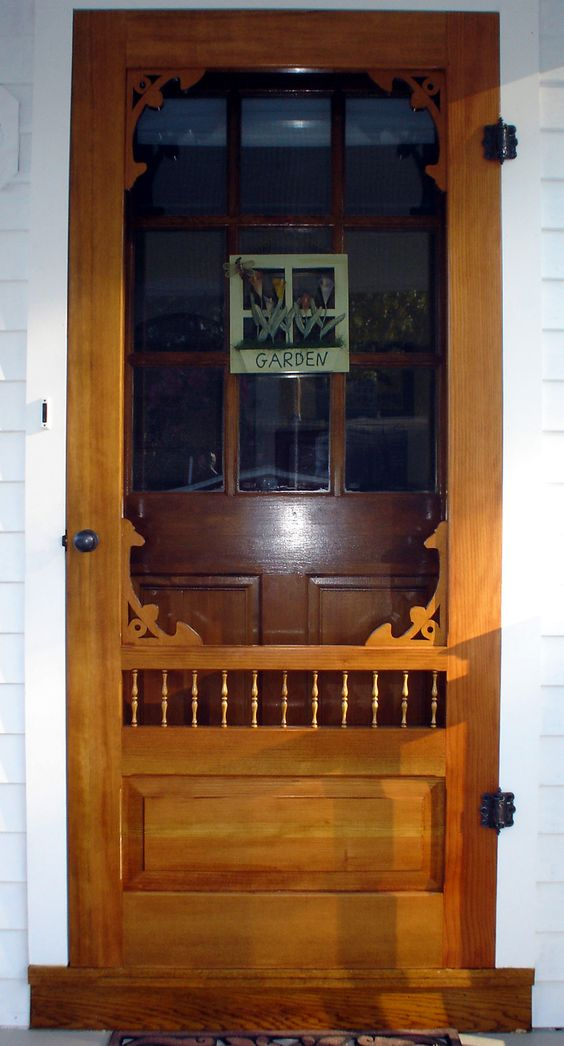 Storm Doors Storms And Victorian On Pinterest