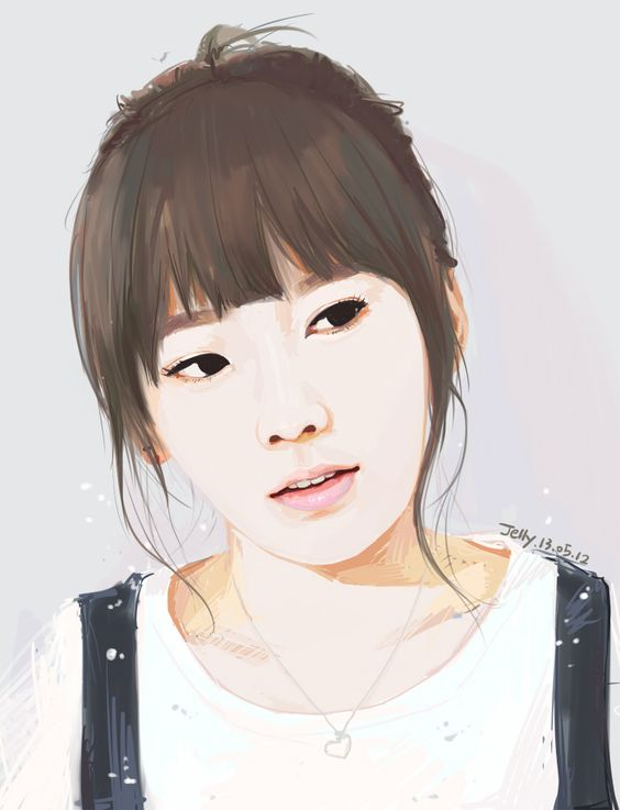 SNSD TaeYeon by #JellyWing