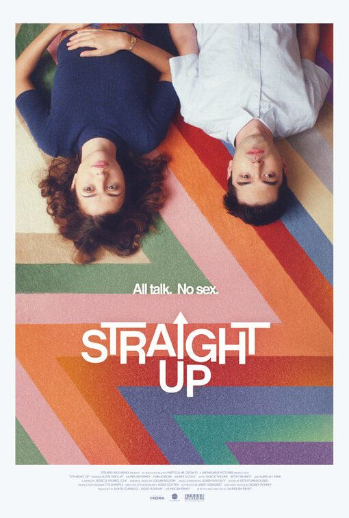 Straight Up Movie Poster 4 Of 4 Imp Awards In 2020 Videos Funny Comedy Movies Straight