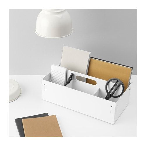 Kvissle Desk Organizer 7x14 X5 Ikea Desk Organization Ikea Desk Organization Kids Desk Organization