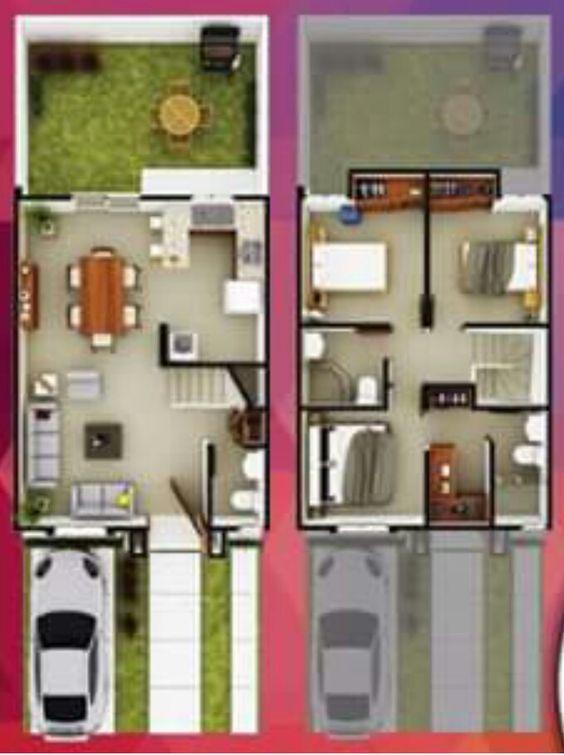 diallo rokhaya (diallorokhaya) on Pinterest - modele plan maison plain pied gratuit