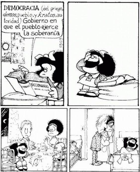 Aplica en tiempos post-modernos. #mafalda