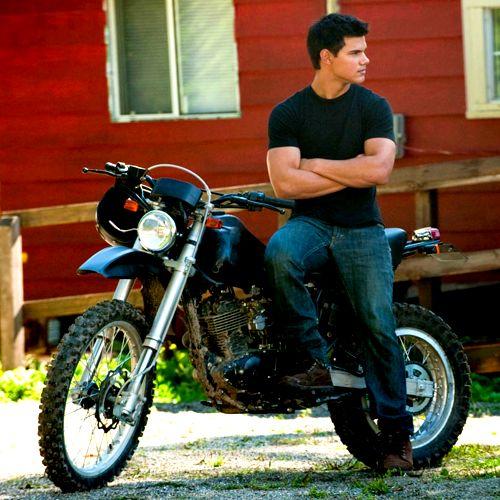 #TaylorLautner as Jacob Black.  #Twilight