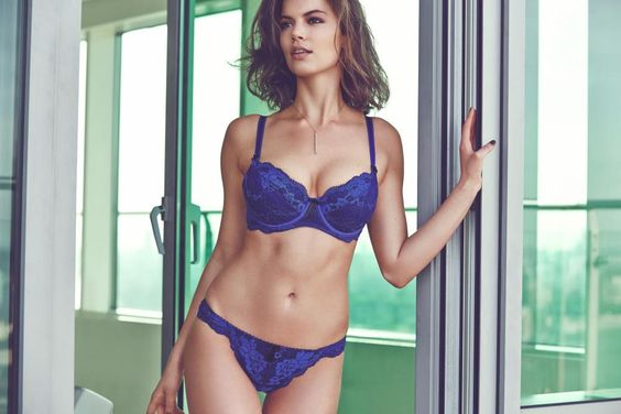 Pour Moi? Amour Padded Bra Set in Royal #SecretsOfTheCity #AW14Lingerie #figleaves: Aw14Lingerie Figleaves, For Me, Secretsofthecity Aw14Lingerie, Royal, Amour Padded