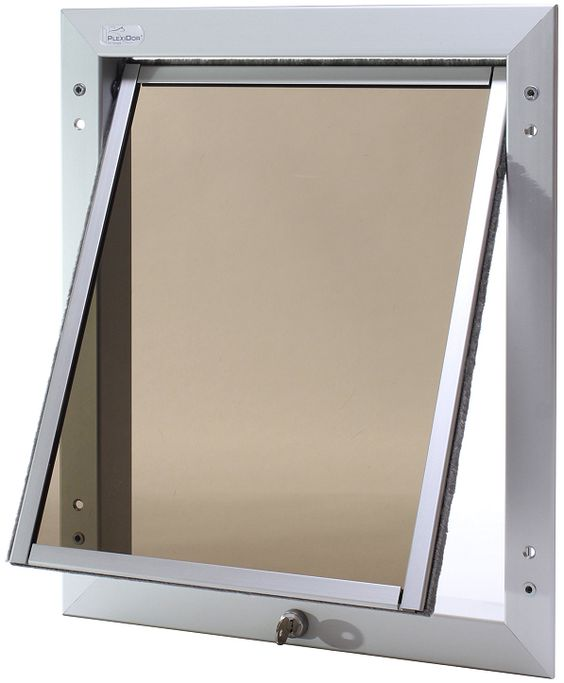 Plexidor Large Top Swing Door Unit for large dogs that like to chew ;-)