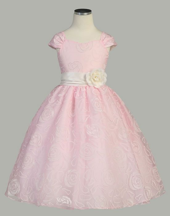 Sweet Kids Flower Girl Dresses- Infant- Toddler- Childrens Formal ...