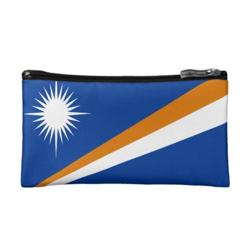 Flag Of Marshall Islands Makeup Bag Makeup Bag Bags Marshall Islands Flag