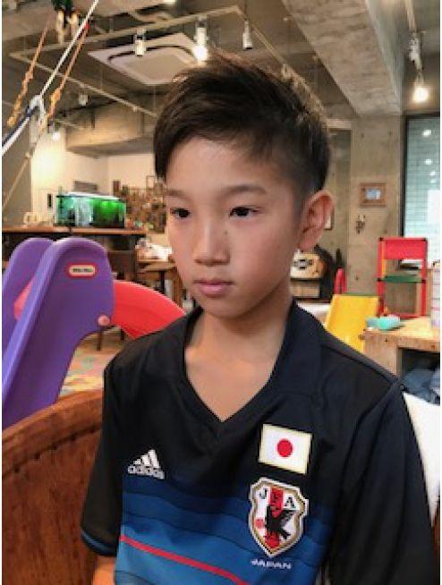プロサッカー選手風ショート L006611675 スヌーク Snook のヘアカタログ ホットペッパービューティー こども ヘアスタイル 子供ヘアスタイル 男の子 こども 髪型