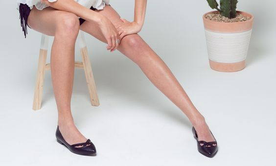 FANCY ballerinas in black <3 . Ethical shoes.  www.byblanch.com