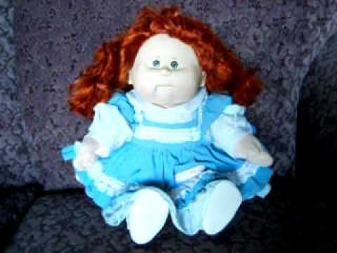 Talking Kids Cabbage Patch Kid Doll Youtube Cabbage Patch Kids Dolls Patch Kids Cabbage Patch Kids