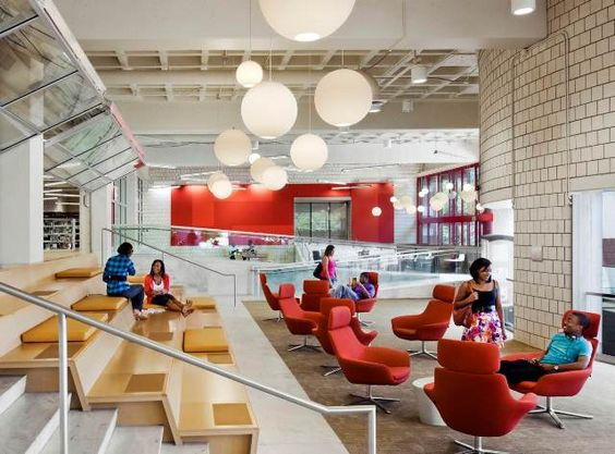 Libraries atlanta and design awards on pinterest for Learn interior design