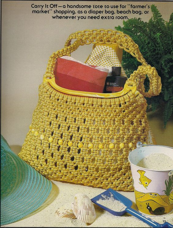Craft Book: 7499 Macrame Purse Boutique 14 Purse by KingsKountry