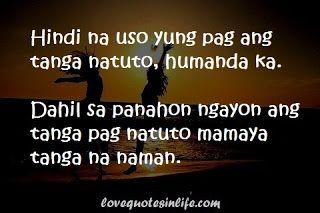 Hugot Quote: People are became foolish wehn it comes to love