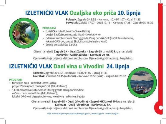 Turisticki Portal Planiraj Com Rumobil Izletnicki Vlak U Ozalj Screenshots