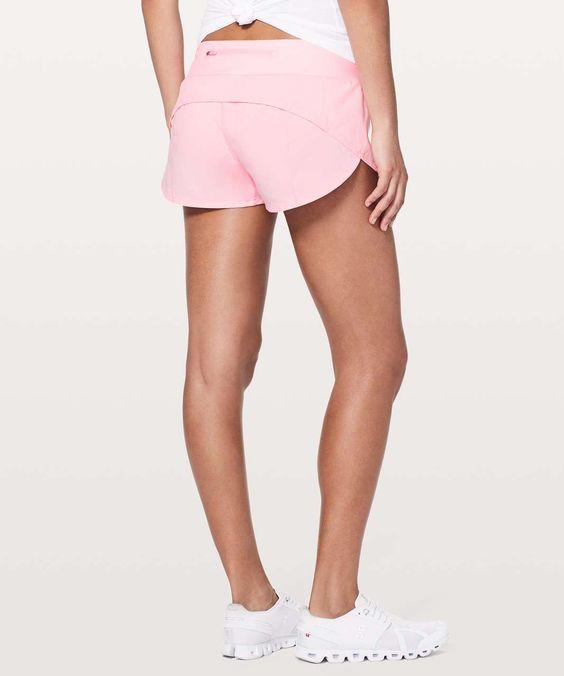 Lululemon Speed Up Short 2 5 Miami Pink Running Shorts Outfit Lululemon Shorts Light Pink Shorts