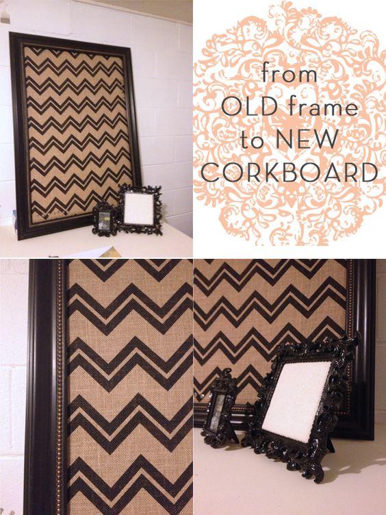 DIY Corkboard
